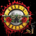 Logo Guns n' Roses Not in this lifetime-tour